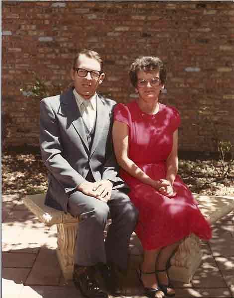 Mother's Day 1983 Keith Wendt and Joan Myers